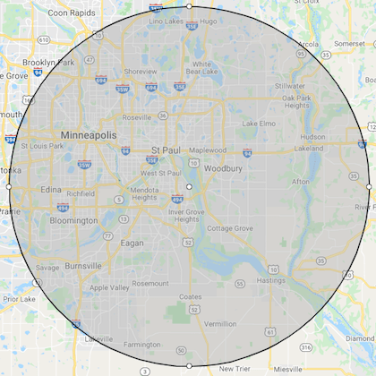 South St Paul MN Location